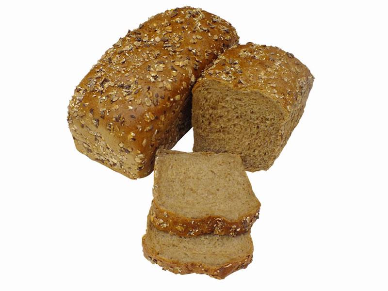 Chlieb celozrná tehla/400g krájaný, balený