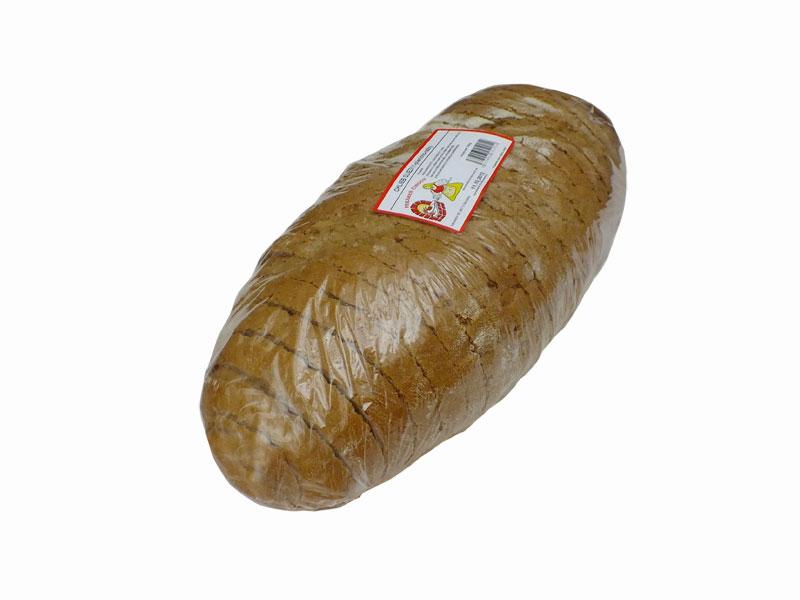 Chlieb sliezky/750g pšeničný, krájaný,balený